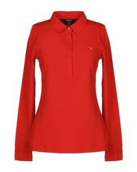 Gant Red Polo Shirt