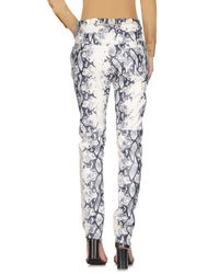 Versace Jeans White Casual Trouser