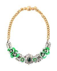 Collier Shourouk en coloris Green