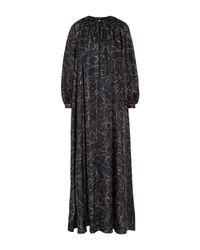 Robe longue Roksanda en coloris Black