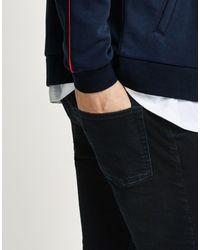 Pantaloni jeans di Topman in Black da Uomo