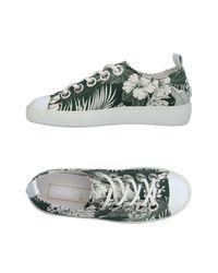 N°21 Green Low-tops & Sneakers
