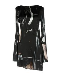 Ann Demeulemeester Black Short Dress