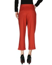 Glamorous Red Casual Trouser