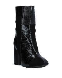 TOPSHOP Black Ankle Boots