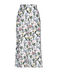 Vivetta White 3/4-length Short