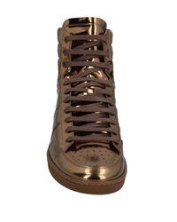 Saint Laurent Metallic High-tops & Sneakers for men