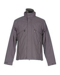 Versace - Gray Jacket for Men - Lyst