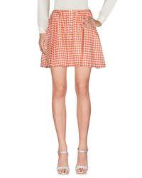 American Vintage Pink Mini Skirt