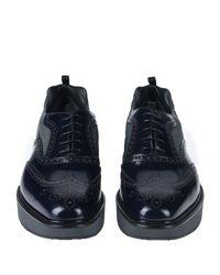 Prada Blue Lace-up Shoe for men