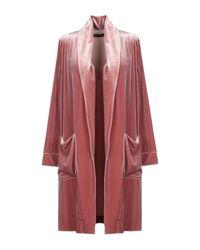 Soallure Red Lange Jacke