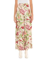 Victoria Beckham Green Casual Trouser