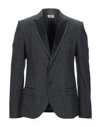 Ice Iceberg Gray Suit Jacket for men