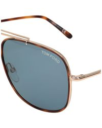 Gafas de sol Tom Ford de hombre de color Brown