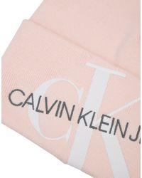 Sombrero Calvin Klein de color Pink