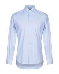Bagutta Hemd in Blue für Herren