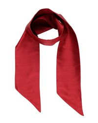 DSquared² Red Scarf