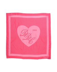 DSquared² Pink Square Scarf