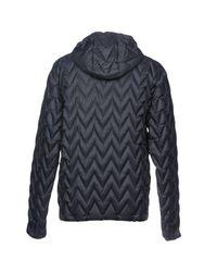 K-Way Blue Down Jacket for men