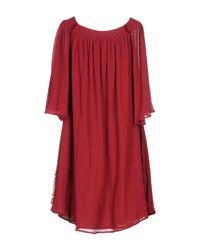 Ballantyne Red Short Dress