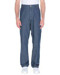 Harmont & Blaine Blue Denim Trousers for men
