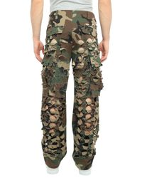 Vetements Green Casual Trouser for men