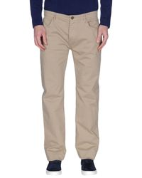 Burberry - Natural Casual Trouser for Men - Lyst