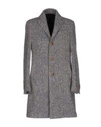 Lardini | Gray Coat | Lyst