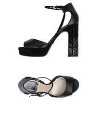 Dior Black Sandals