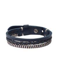 Fossil - Pink Bracelet for Men - Lyst