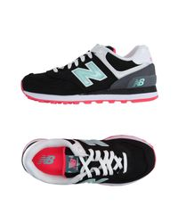 New Balance Black Low-tops & Sneakers