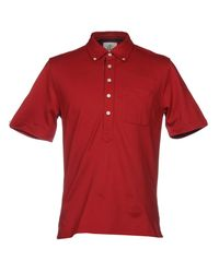 Black Fleece By Brooks Brothers - Red Polo Shirts for Men - Lyst