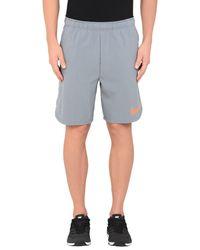 Nike Gray Bermuda Shorts for men