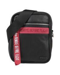Alpha Industries Black Cross-body Bag for men