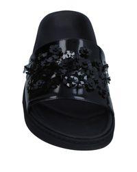 Simone Rocha Black Sandals