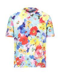 Camiseta Love Moschino de hombre de color Blue