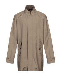 Baracuta Multicolor Overcoat for men