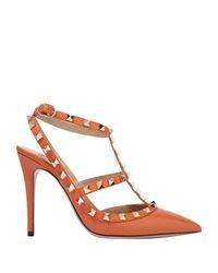 Escarpins Valentino en coloris Orange