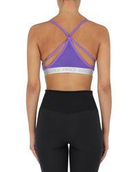 Top di Nike in Purple