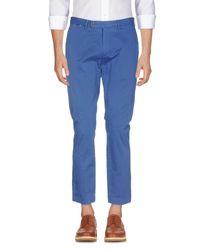 Pantalon Hackett pour homme en coloris Blue