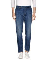 Valentino Blue Denim Trousers for men