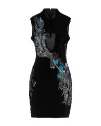 Just Cavalli Black Kurzes Kleid