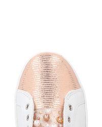 Apepazza Pink Low-tops & Sneakers
