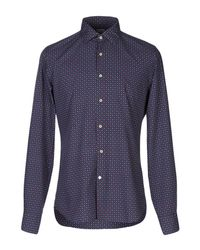 Xacus Blue Shirt for men
