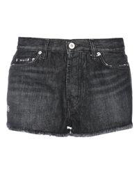 Short en jean Heron Preston en coloris Black