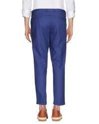 AT.P.CO Blue Casual Trouser for men