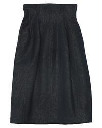 Alaïa Blue Denim Skirt