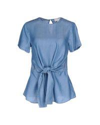 MICHAEL Michael Kors Blue Jeanshemd