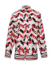 Chemise Maison Kitsuné pour homme en coloris Red