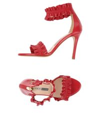 Chiarini Bologna Red Sandals